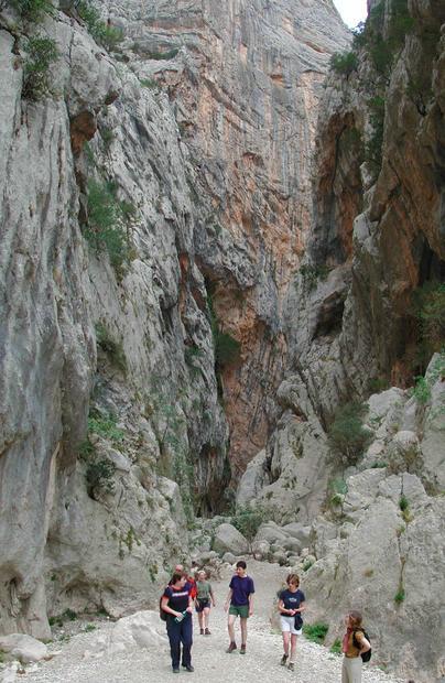 sardinie-su gorropu gorge